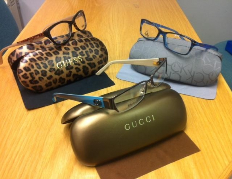 Check out our new GUESS, GUCCI and CALVIN KLEIN frames that have just arrived